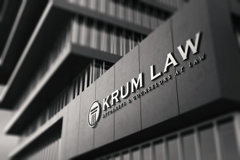 krum law logo