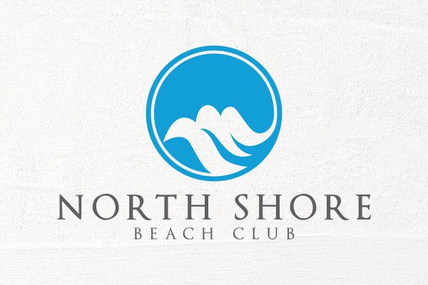 north shore beach club logo designs