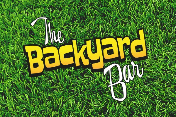 backyard bar logo design